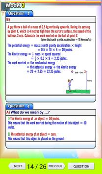 Science Revision preparatory 1 T1 apk screenshot