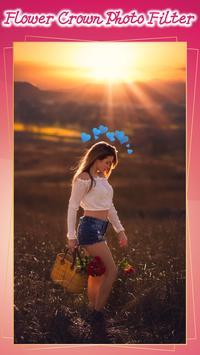 Flower Crown Photo Filter screenshot 5