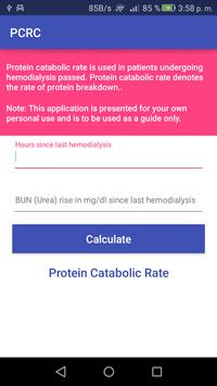 PCRC - Protein catabolic rate poster