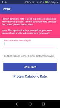 PCRC - Protein catabolic rate screenshot 1