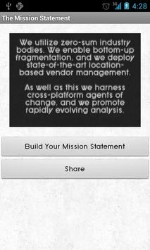The Mission Statement apk screenshot