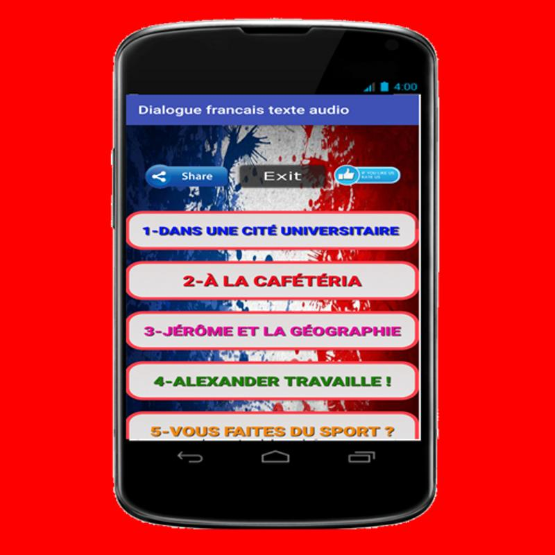Authentic french podcast apk download free education app for.