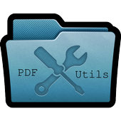 PDF Utils (Merge/Reorder/Split/Extract/Watermark) icon