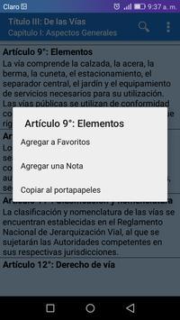 Transito Perú screenshot 3