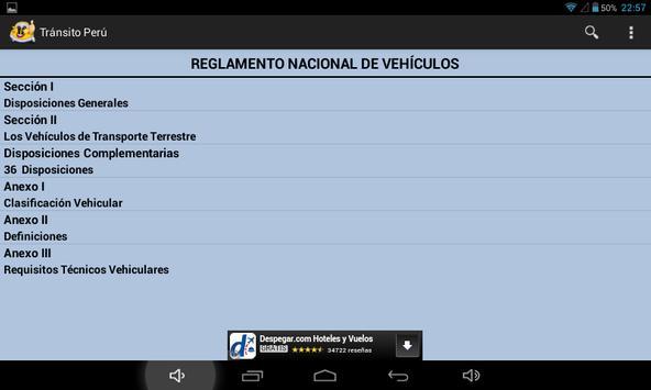 Transito Perú screenshot 11