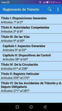 Transito Perú screenshot 1