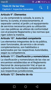 Transito Perú screenshot 2