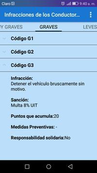 Transito Perú screenshot 7