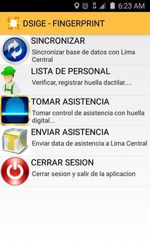 CAM Perú Control Asistencia screenshot 1