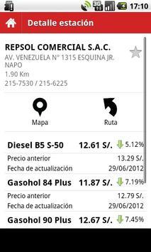 Precio Combustibles Perú screenshot 4