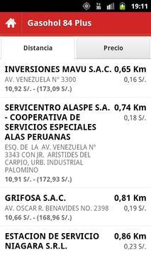 Precio Combustibles Perú screenshot 1