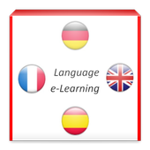 Language e-Learning icon