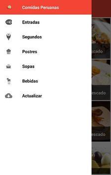 Comidas Peruanas apk screenshot