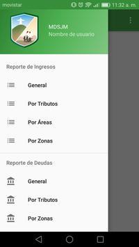 MUNISJM - Intranet screenshot 1