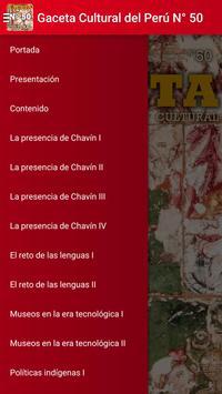 Gaceta Cultural del Perú Nº 50 poster