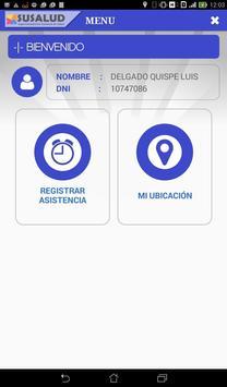 SUSALUD Asistencia apk screenshot