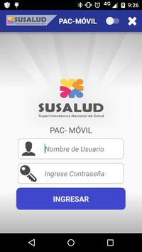 BPM PAC SUSALUD poster