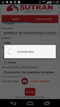 Alerta SUTRAN apk screenshot