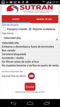 Alerta SUTRAN screenshot 2