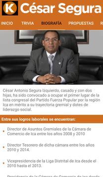 Cesar Segura apk screenshot