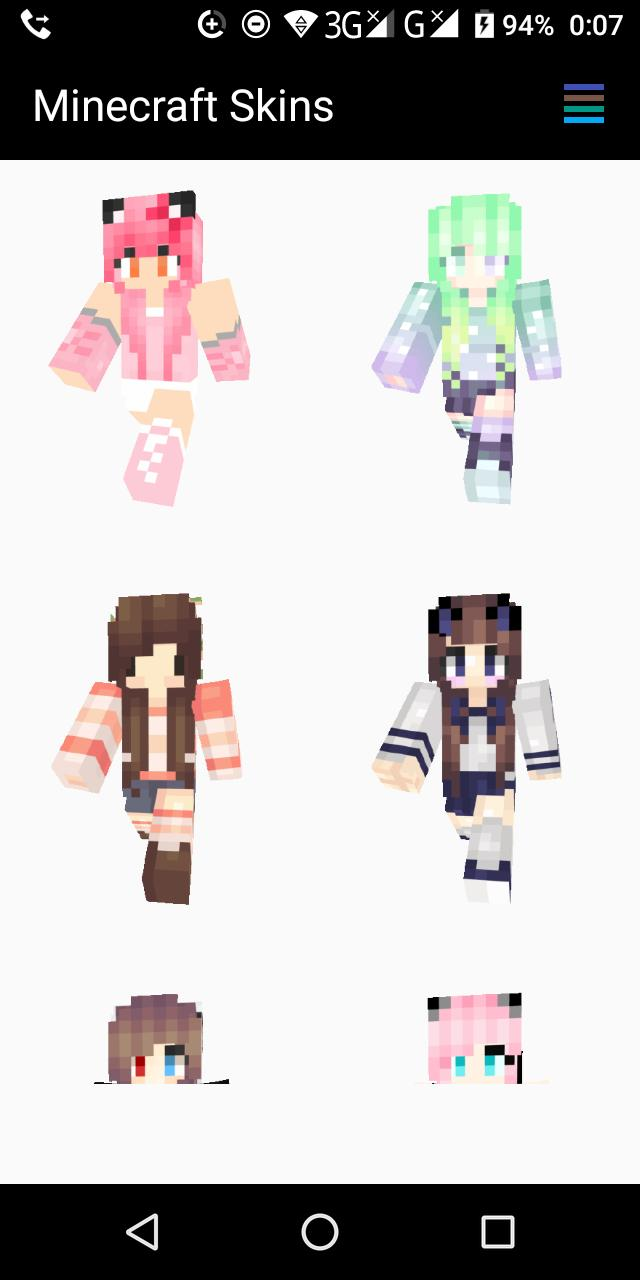 Kawaii Skins For Minecraft Pe For Android Apk Download