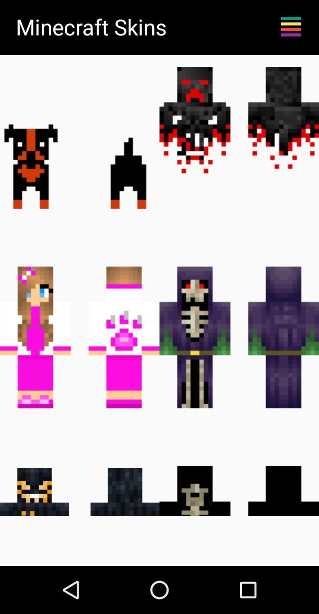 скины для майнкрафт пе для девочек хэллоуин #4