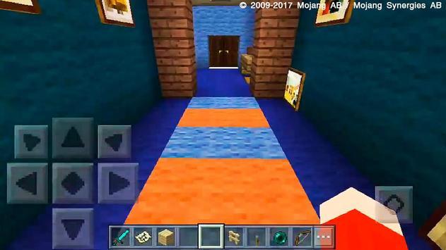 Hello Neighbor Minecraft PE Map Multiplayer screenshot 4