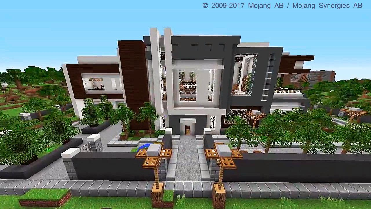 Modern Mansion Map for Minecraft PE cho Android - Tải về APK
