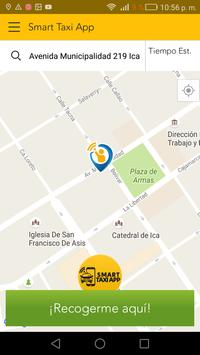 Smart Taxi App - Pasajero screenshot 2