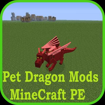 Pet Dragon Mods for Minecraft poster