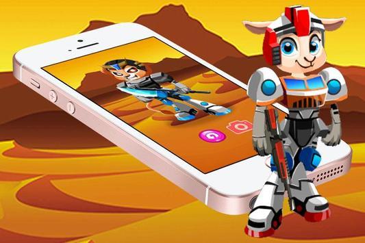 Create Toy Robot Space Mecha apk screenshot