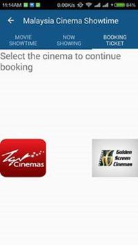 Cinema Malaysia  Showtime apk screenshot