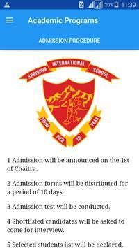 Shridiwa International School apk screenshot