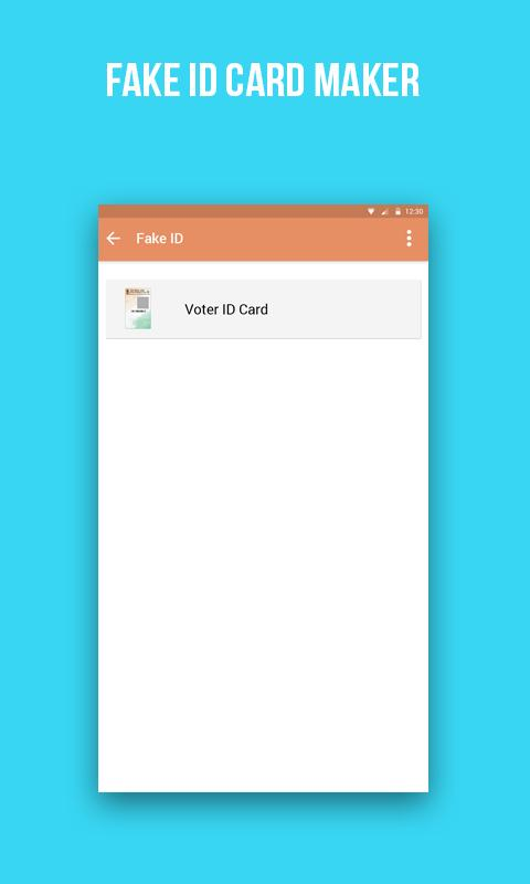 Fake voter id card maker apk download free entertainment app for android apkpurecom for Fake certificates maker