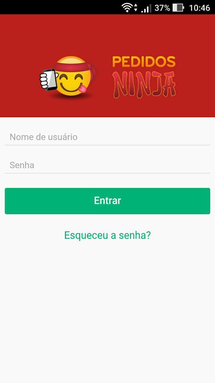 Pedidos Ninja - Comerciante poster
