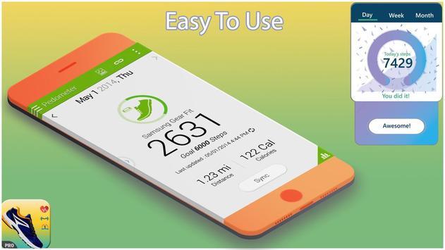Calorie Calculator - Pedometer & Bmi Calculator screenshot 1
