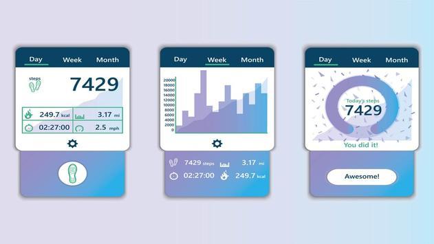 Calorie Calculator - Pedometer & Bmi Calculator screenshot 4