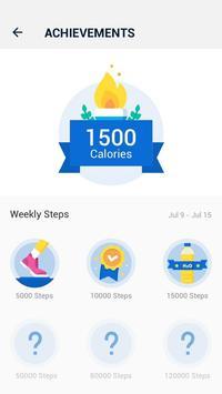 Pedometer - Hitung Langkah Gratis & Bakar Kalori screenshot 3