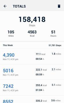 Pedometer - Hitung Langkah Gratis & Bakar Kalori screenshot 10