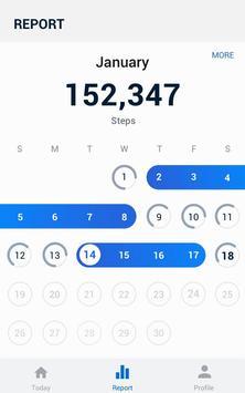 Pedometer - Hitung Langkah Gratis & Bakar Kalori screenshot 7