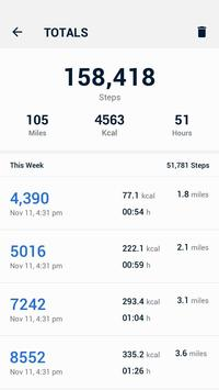 Pedometer - Hitung Langkah Gratis & Bakar Kalori screenshot 4