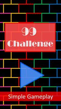 99 Challenge poster