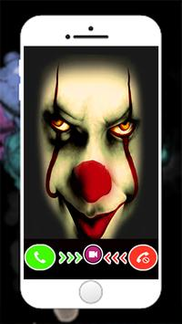 fake call from Old Pennywise And New Pennywise poster