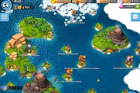 New Boom Beach Guide poster