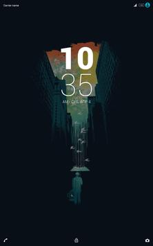 Xperia Dark theme apk screenshot