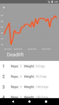 Material Fitness screenshot 2