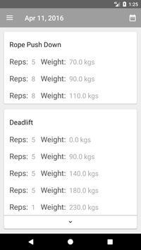 Material Fitness screenshot 4