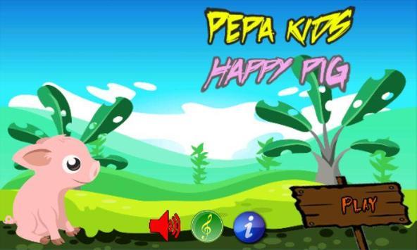 Pepa Kids Happy Pig poster