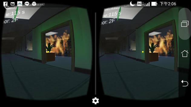 VR Fire Evacuation Simulator apk screenshot