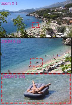 super zoom camera poster